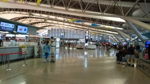 関西国際空港の様子