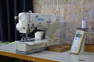 ネムリ ボタンホール 縫製 ミシン